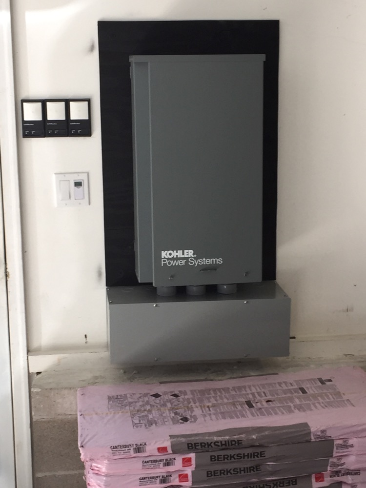 Kohler Transfer Switch Panel for Residential Generator